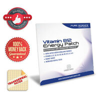 Transdermal Vitamin B12 Patches - 5000mcg Methylcobalamin with Essential Vitamin