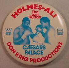 1980 Muhammad Ali Holmes DON KING CAESAR'S PALACE BOXING PIN
