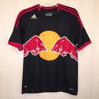 Adidas Clima Cool MLS New York Red Bulls Soccer Jersey Mens Large Blue Red Gold