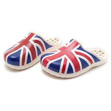 British flag / Union Jack Womens Bathroom Shoes Home Slippers Sandal US_8 250mm