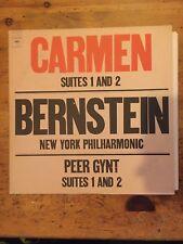 CARMEN SUITES 1 AND 2 CLASSICAL LEONARD BERNSTEIN, LP M-31800 VGC,