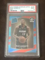 2017 Bam Adebayo Panini Donruss Optic Red /99 #187 PSA 9 MINT