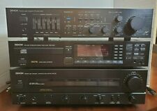 LOT OF DENON HOME STEREO Integrated Amplifier, EQ CD  PMA-520+DCD-1300+AVC-500