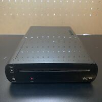 NINTENDO WII U REPLACEMENT 32GB BLACK CONSOLE SYSTEM ONLY WUP-101(02) - Tested!