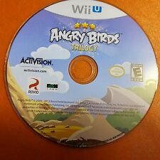 ANGRY BIRDS TRILOGY (WII U) (DISC ONLY) 2805