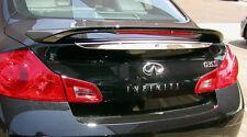 Fits 2007 - 2008 Infiniti G35 4 Door OE Factory Style Spoiler Wing