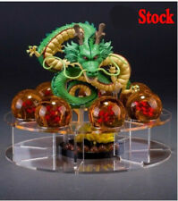AU Dragon ball Z Shenlong Shenron Star Crystal Ball Display Stand Set Toy Figure