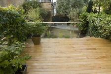 130mm x 28mm Smooth Oak Decking/ Patio/Garden Hardwood/ Timber Boards