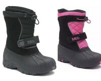 Totes Boys Girls Snow Boots Water Resistant New