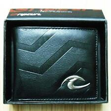 New with Box Rip Curl Men's Surf Faux Leather Wallet  Xmas Gift #011