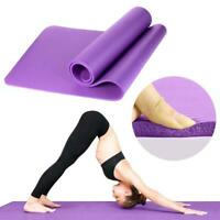 Extra Thick Non-slip Yoga Mat Pad Exercise Fitness Dampproof Cushion Pilates15mm