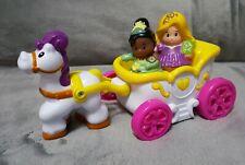 Little People Disney Princess Coach Tiana & Rapunzul