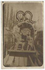 XOCHIMILCO Mexico MEXICAN RPPC Real Photo Postcard FLOATING GARDENS DF City MX