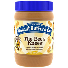 NEW PEANUT BUTTER & CO. SMOOTH OPERATOR THE BEE KNEES GLUTEN FREE DAILY FOODS