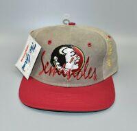 FSU Florida State Seminoles The Game Vintage 90's Snapback Cap Hat - NWT