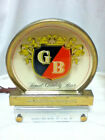 Griesedieck beer sign vintage lighted ROG reverse painted glass topper light old
