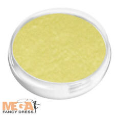 Oro Cara Y Cuerpo Pintura Fancy Dress Costume Maquillaje facepaint Goldfinger 007