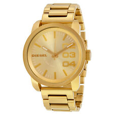 Diesel Franchise All Gold Ion-plated Unisex Watch DZ1466