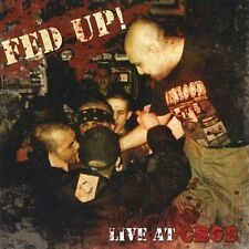"FED UP! ""LIVE AT CBGB"" CD NEW! NEW YORK HARDCORE/OI!/STREETPUNK"