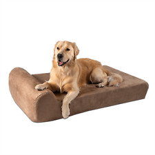 Big Barker Orthopedic Dog Bed: Headrest Edition. For Large and XL Dogs.