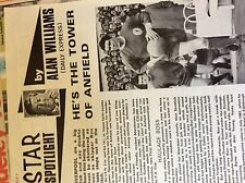 m3g ephemera football article ron yeats liverpool