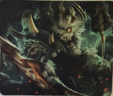 LEAGUE OF LEGENDS LOL rengar LIMITED EDITION GIOCO TAPPETINO GIOCO MOUSE PAD 30x25cm