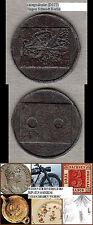Whistmarke aus Eisen ca. 22 mm ca. 2,80 g (D177) stampsdealer