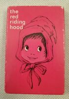 Vintage The Red Riding Hood Card Game 1960s 1970s