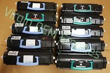 20 Virgin Genuine Empty Dell 2330 Lexmark E260 Toner Cartridges FREE SHIPPING