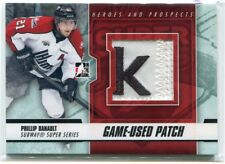 2012-13 ITG Heroes Prospects Subway Phillip Danault Rookie Reebok Logo Patch /25