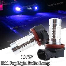 H11 H8 10000K Blue 11W CREE LED High Power Fog Light Driving DRL Bulb for Ford