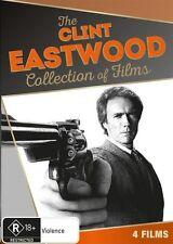 Clint Eastwood (DVD, 2016, 4-Disc Set) R4 Genuine & unSealed (D115/D150/D163)