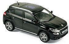 PEUGEOT 4008 SUV 2012-16 Black Perla Nera Black Metallic 1:43 Norev