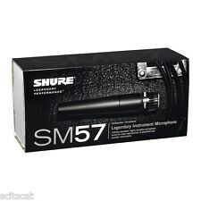 New Shure SM57-LC SM57 Instrument Microphone Cardioid Dynamic Mic *Free XLR