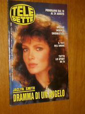 TELESETTE 1991/34=JACLYN SMITH=SABINA STILO=MARINA MORGAN=DALLA DE ANDRE PAOLI=