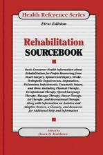 Rehabilitation Sourcebook: Basic Consumer Health Information About Reh-ExLibrary