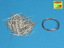 1/16 ABER 16068B 200 TRACK PINS for GERMAN PANZER IV Ausf. H for TRUMPETER MODEL