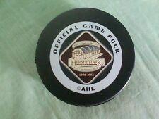 Hershey Bears Ahl Hockey Puck 2002 Inaugural Game Giant Center Pa