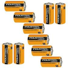 10 X Duracell C Size Industrial Alkaline Batteries Procell Lr14 Cell Mn1400 Baby
