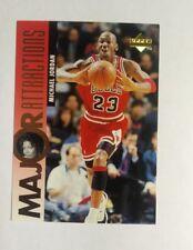 1995-96 Upper Deck Michael Jordan/Q. Latifah Major Attractions Basketball #341