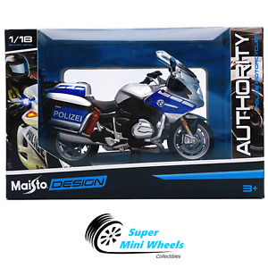 Maisto Motorcycles 1:18 - Authority - BMW R 1200 RT - Polizei (Police)