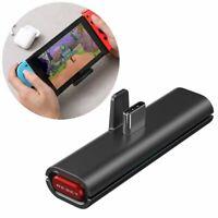 Bluetooth Audio Transmitter Adapter Empfänger Lautsprecher für Nintendo Switch