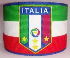 Italy Captain Armband Fascia Capitano Brazalete Milan Inter Juventus Italia