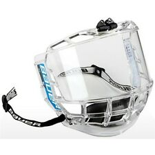 New Bauer Junior Concept 3 Full Facial Clear Visor Shield Polycarbonate Protect