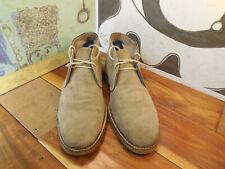 Banana Republic Tan Suede Chukka Ankle Boots Men's 8.5M