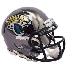 Jacksonville Jaguars Mini Helmet Riddell NFL Alternate Speed Chrome