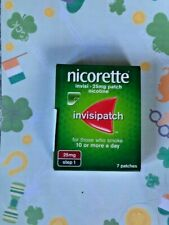 Nicorette Invisi - Invisipatch - 25mg Patch - Nicotine - STEP 1- 7 Patches