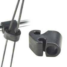 Nylon Cord 1.75m Archery Recurve Bow String Longbow Stringer Black Leather Tip