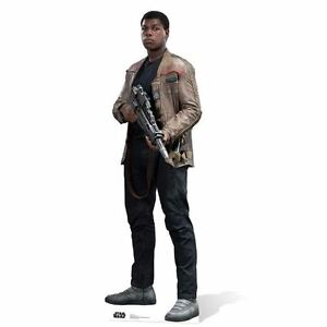 Star Wars The Force Awakens Finn Lifesize Cardboard Cutout  - 178cm With Stand