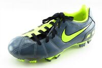 Nike T90 Youth Boys Shoes Size 1 M Neon Yellow Synthetic Athletic